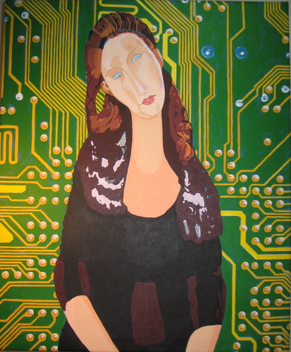 Motherboard (after Modigliani) (large view)