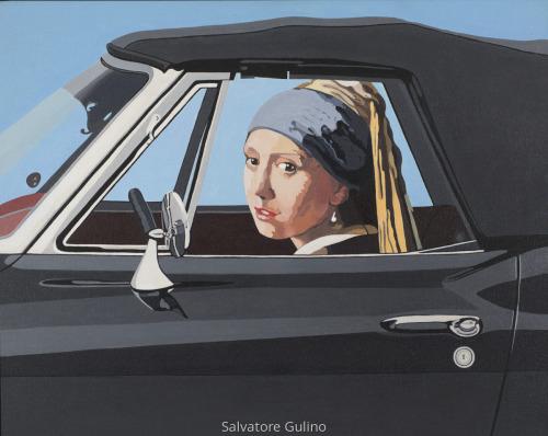 Corvette (after Vermeer) by Salvatore Gulino
