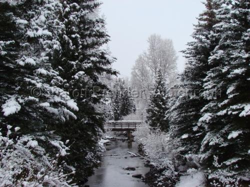 First Snow - Telluride, Colorado