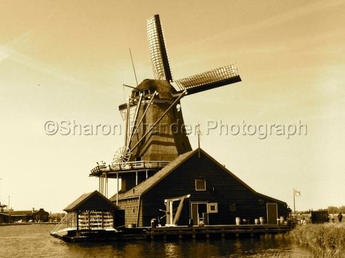 Zagnse Schans Windmills, Denmark