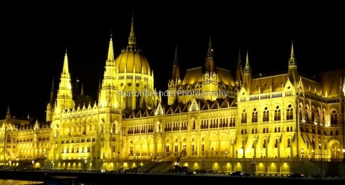 The Parliament of Budapest, Hungary