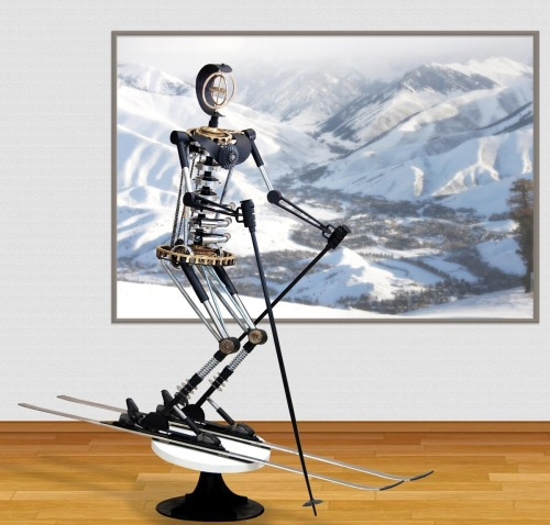 SKI MACHINE in gallery