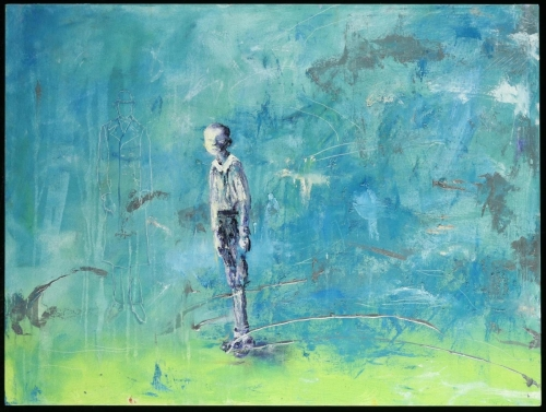 Lost Boy by Shanna Bruschi Art: Paintings and Photographs