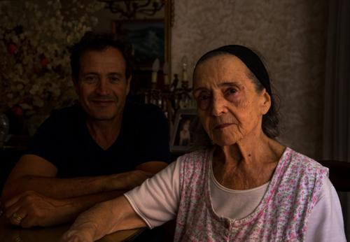 Maurizio and Nonna Maria Letizia