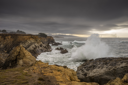 Crashing waves at Sea Ranch