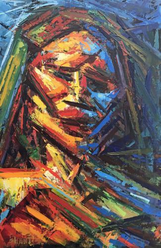 Portrait of a Female Figure