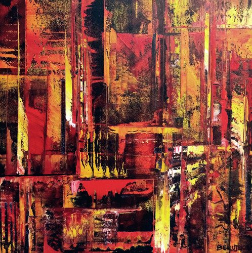 Abstract Cityscape 1011