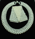 This is a beautiful duo of Pearls. I can separate the two and use either Freshwater pearls or Swarvoski glass pearls. Beautiful for a Bride or any occasion. The price will reflect the selection of which type pearl is chosen. (thumbnail)