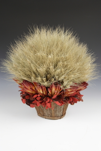 Wheat Topiary by Sharon Haines/Natural Accents