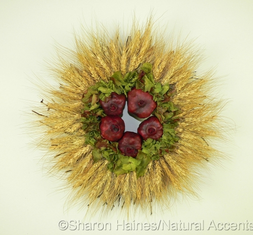 Wheat and Pomegranate Wreath