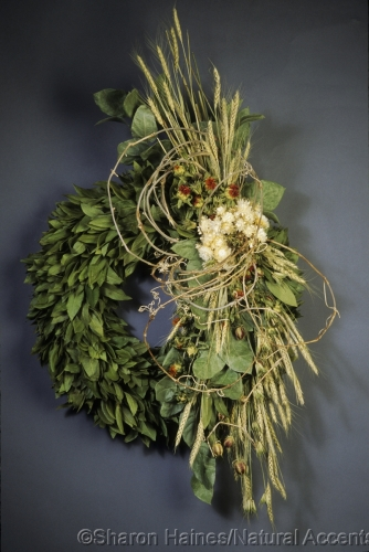 Bay Leaf Wreath and Naturals
