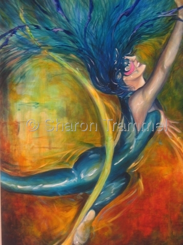 Aerial Dancer 1 by Sharon Trammel