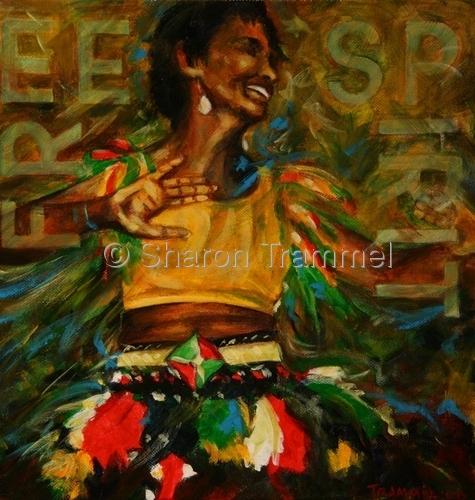 """Free Spirit"" by Sharon Trammel"