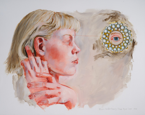 Blue Eyed Lover by Sharon VanStarkenburg