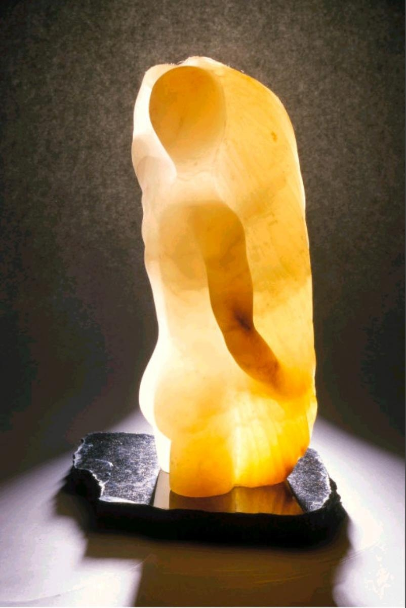 Canadian Alabaster  Table Top Sculpture (large view)