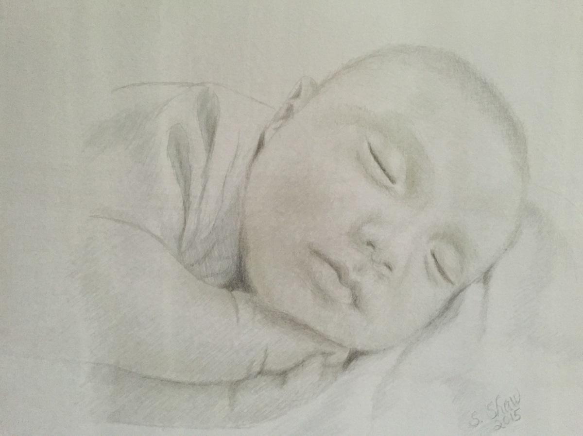 Baby Sleeping I (large view)