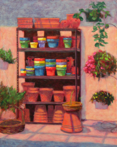 Flower Pots by Sharon Shaw