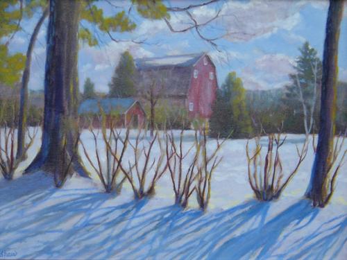 Snow Shadows by Sharon Shaw