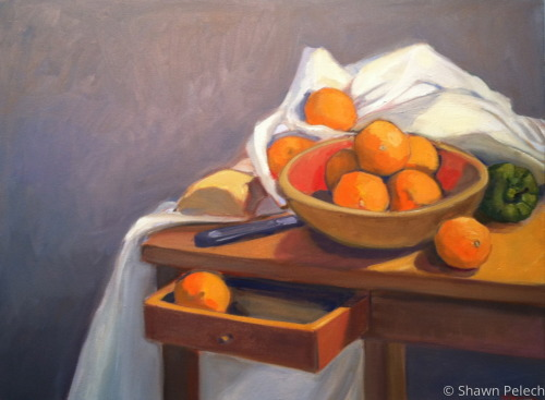 Sill Life with Oranges