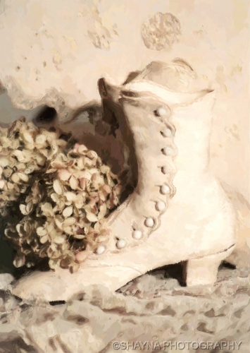 VINTAGE WEDDING BOOT