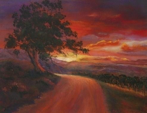 Tuscany Sunset by Sheila Sugerman