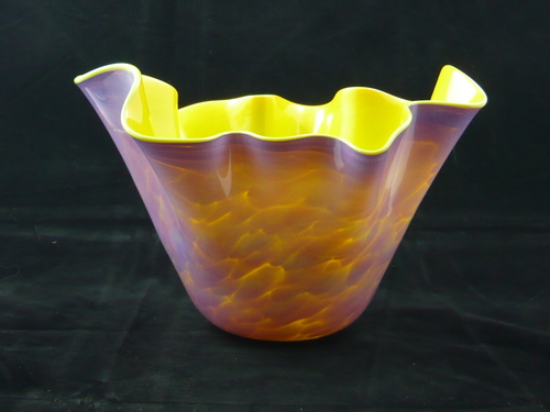 Handkerchief Bowl 4 by Glass Mountain Gallery & Studio
