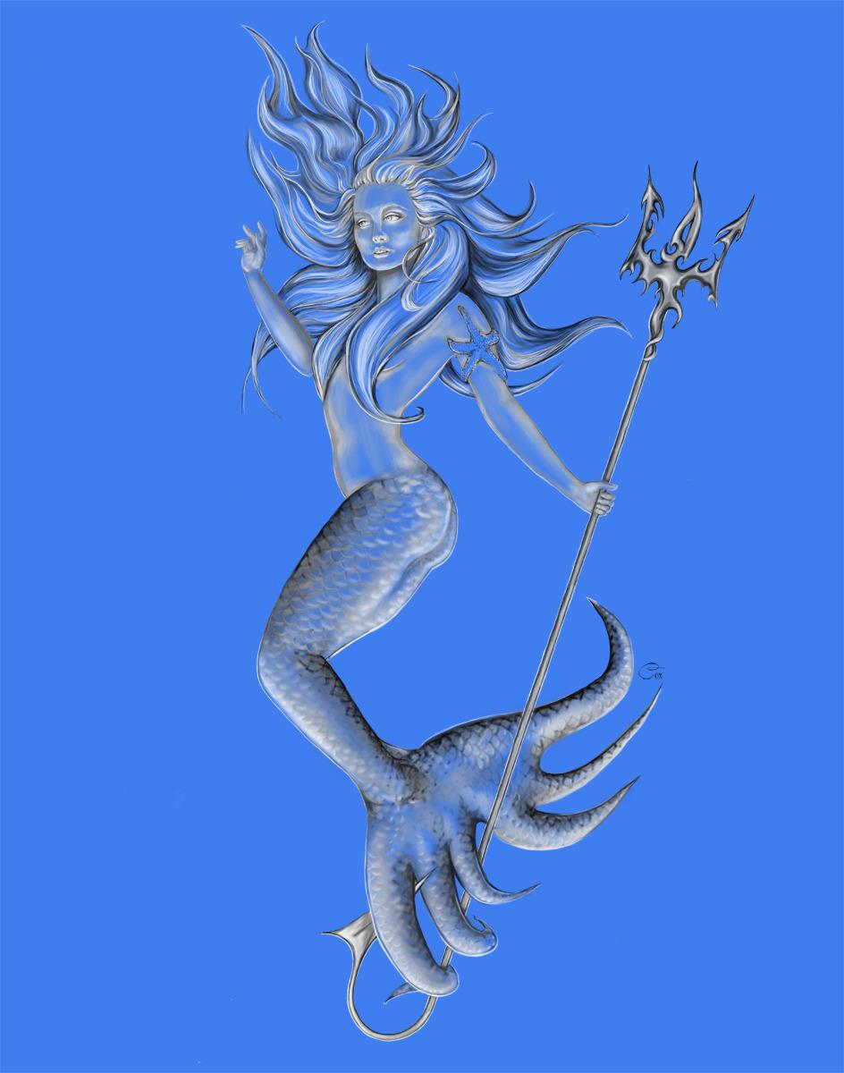 Blue Mermaid 2 (large view)