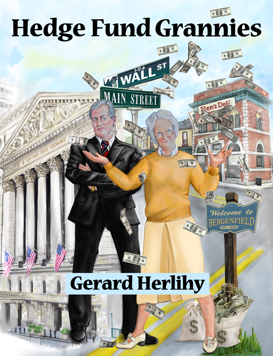 """Book Cover """"Hedge Fund Grannies"""" (large view)"""