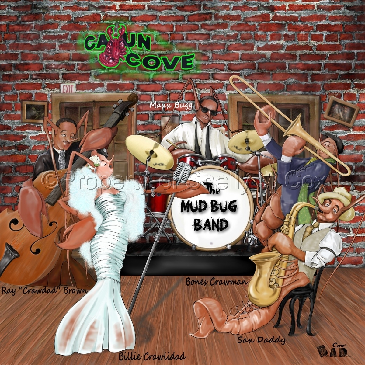 Mud Bug Jazz Band (large view)