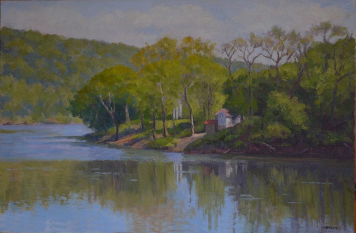 Delaware River Landscape (large view)