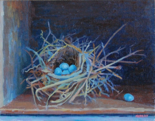 Bird's Nest by Shirley Mersky