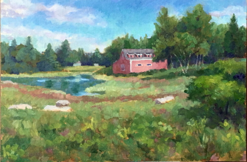 Maine Barn (large view)