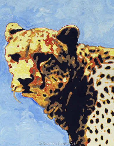 Cheetah by Stephen Hunter