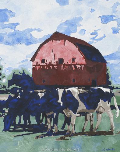 Cowbarn Painting