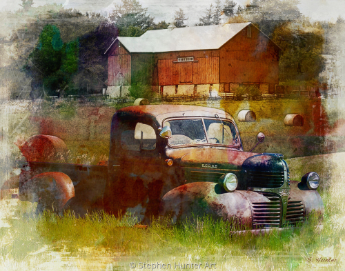 Dodge Barn by Stephen Hunter