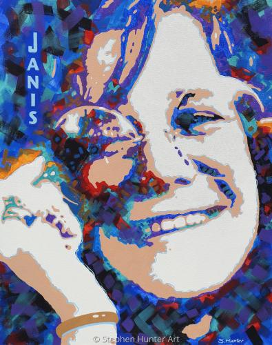 Janis painting