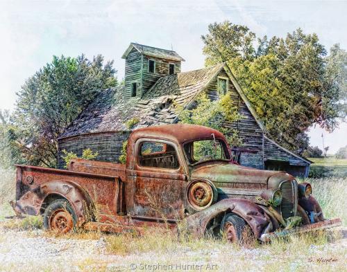 New Truck/barn
