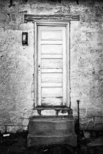 Steve's door. (large view)