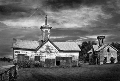 Star Barn - two outbuildings. (large view)