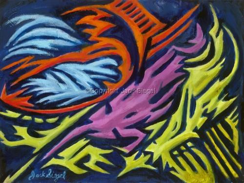 UFOs by Jack Siegel, Artist