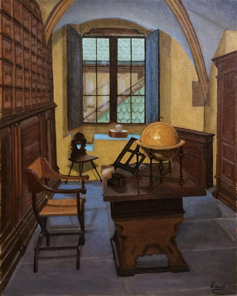 Vermeer's Office (large view)