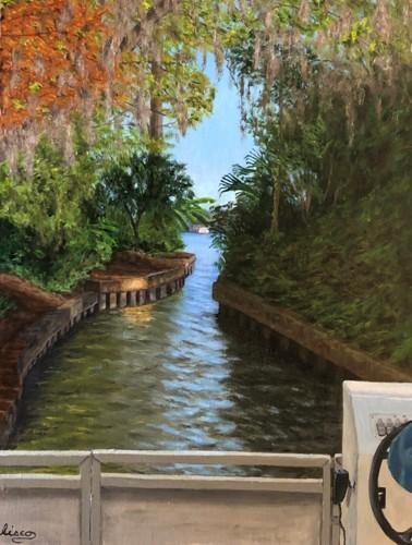 Wall Boat Ride by Gary Sisco