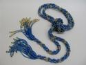 Blue Calico lariat (thumbnail)