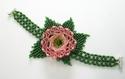 PinK Trumpet  Flower bracelet (thumbnail)