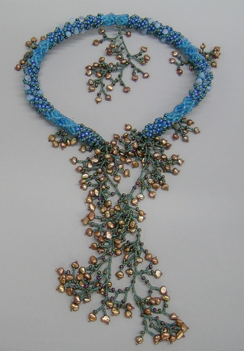 Water Helix neckpiece