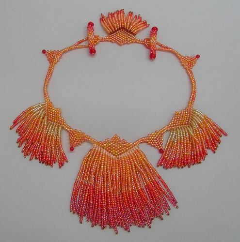 Flameout necklace