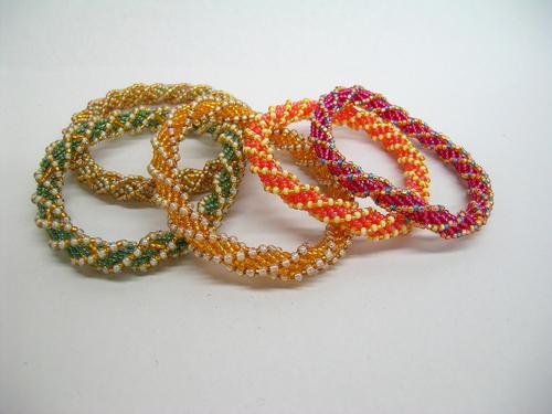 Bangle bracelets (large view)
