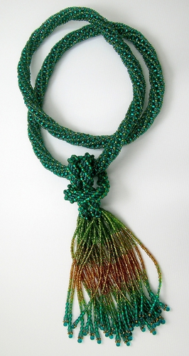 Tubular Zulu Rope necklace (large view)
