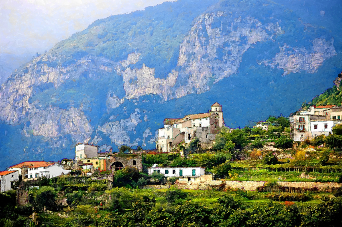 Ravello Hillside (large view)