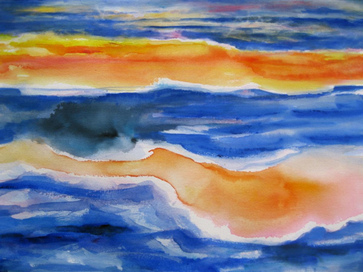 Fiery Sea (large view)